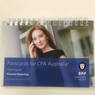 CPA - Financial reporting PASSCARD