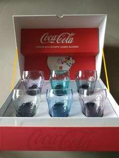 珍藏💐2012倫敦奧運限量版可樂水杯連CD