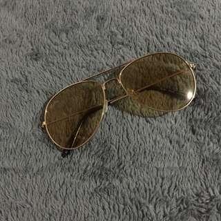 Yellow Tint Sun Glasses