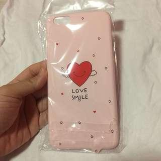 🌸BRANDNEW🌸 Iphone 6+, Iphone 6s+, Iphone 6 plus Love Smile Pink Hard Case