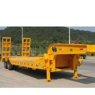 Two-Axle Lowbed          Semi-Trailer
