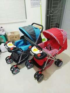 Stroller dorongan bayi