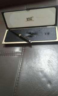 Used Mont Blanc Pen Good Condition