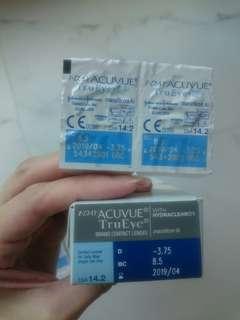 Acuvue TruEye (-3.75, 8.5)