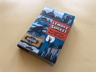 Who Could That Be At This Hour - Lemony Snicket Novel Import
