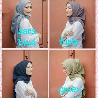 Cotton poppin by vanilla hijab