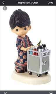 🚚 Singapore Airlines Precious Moment Figurine