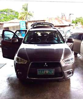 For sale..  Mitsubishi asx 2012/63k mileage. Well maintained. Bagong batt, bagong change oil. No issue. Leather seats. 1 additional spare tire.  Automatic/gas