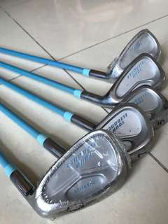 Dunlop Beginner Golf Set - Baby Blue