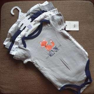Hudson Baby 5-pack Onesies
