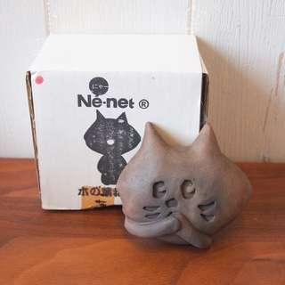 日本Ne-net nya貓貓鄉土玩具擺設非禮勿言