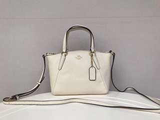 AUTHENTIC COACH MINI KELSEY IN PEBBLE LEATHER