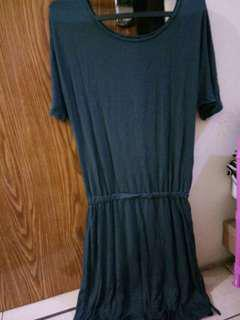 Dress kaos uniqlo