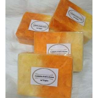 Lemon Anti Acne Kojic Soap