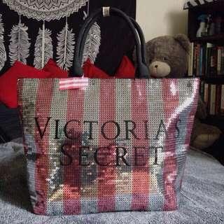 Victoria's Secret Black Friday Sequin Tote