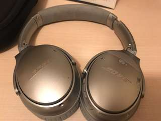 BOSE Quietcomfort 35 in Silver