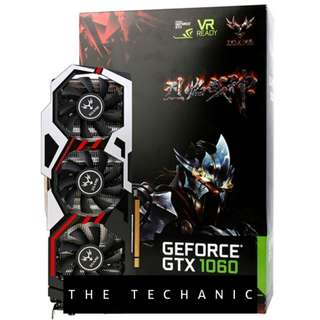 COLORFUL IGAME GEFORCE GTX1060 U TOP 6G