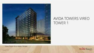 Arca South Avida Towers Vireo