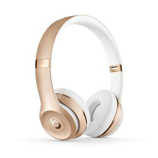 Beats By Dre Solo 3 Gold