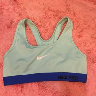 Preloved Auth Nike Sports Bra Teal