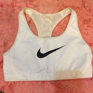 Preloved Auth Nike Sports Bra White