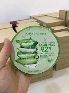 Promo !!! Buy nature republic aloevera gel free eyebrow pixy