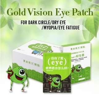 Golden Vision eye patch