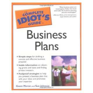 🚚 The Complete Idiot's Guide to Business Plans