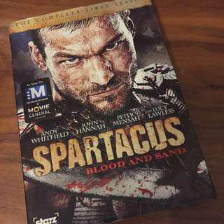 Spartacus season 1 *Uncut Region 1 Version*