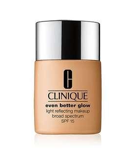 Clinique even better glow foundation