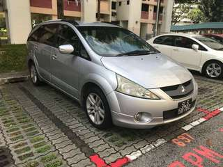 Mitsubishi grandis 2.4 mivec RM 5,000 BODY CASH COLLECT JB DEPOSIT RM 500 STATUS SG SCRAP 🇸🇬