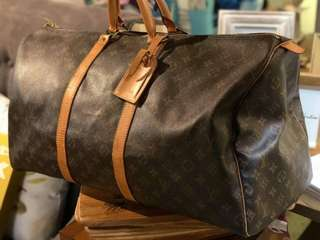 LV Keepall Bandouliere 50