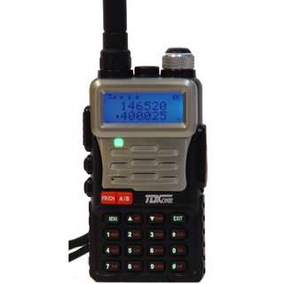 🚚 Singapore stock! TDX One TD-Q8 IP65 Splash proof Two-Way Radio Dual band, Dual Frequency, Dual Standby VHF 136-174 MHz, UHF 400-520 MHz 5W walkie talkie professional transceiver UV-5R based model