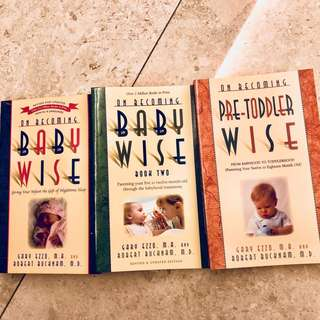 🚚 Baby Wise Books 1 & 2 Pre-Toddler Wise set