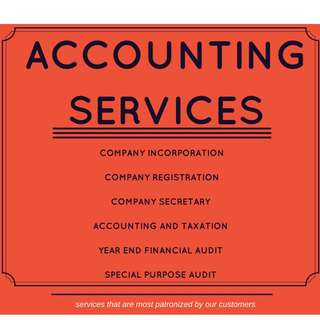 Accounting Services for your business needs.