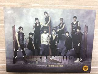 Super Junior Super Show 3 DVD