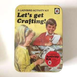 Ladybird Activity Kit Let's get crafting set