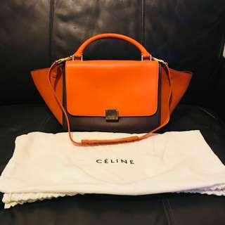Celine Trapeze handbag