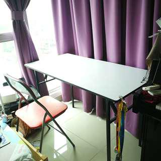 Foldable Banquet Table with Free Foldable Chair #50Under