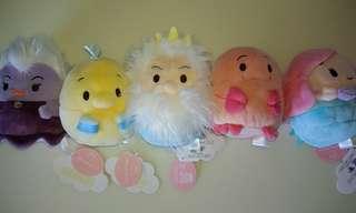 🚚 日版 迪士尼 ufufy 小美人魚系列 五款合售 香氛 擺飾