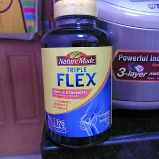購自美國 Nature Made TripleFlex Triple Strength 170 tablets / Nature Made 葡萄糖胺 軟骨素 170粒
