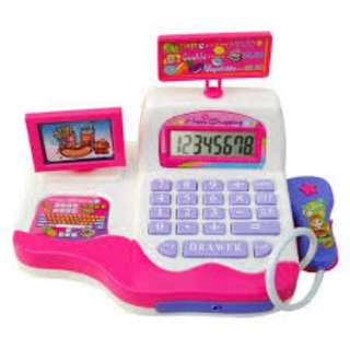 Kids Simulation Supermarket Cash Register Music Learning Electronic Toys