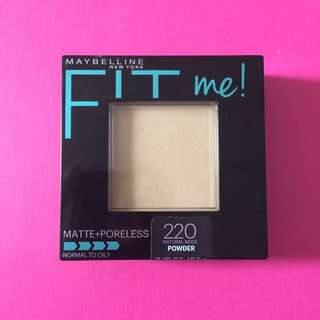[PRELOVED] Maybelline Fit Me Matte + Poreless Powder #maudecay