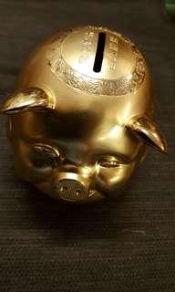 🚚 金豬招財存錢筒