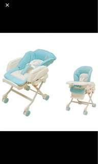Baby swing bed/high chair Combi Rashule