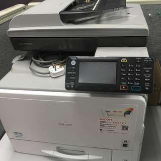 RICOH Aficio MP C305SPF A4 B/W & Color Printer/Copier
