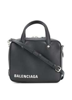 Balenciaga duffle bag xs black handbag