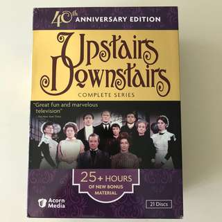 Upstairs Downstairs Complete Series DVD Box Set