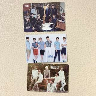 Yescard exo 團體