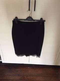 Preloved Forever21 Black Skirt